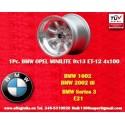 1 Stk. Felge BMW Minilite9x13 ET-12 4x100