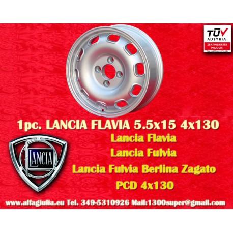 1 Stk. Felgen Lancia Flavia Tecnomagnesio Style 5.5Jx15 ET23 4x130 mit TÜV