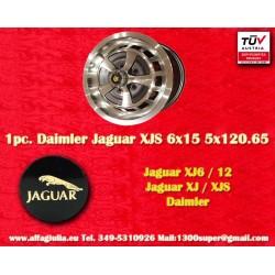 Cerchio Jaguar Daimler 6x15 Jaguar XJ6/12 XJS