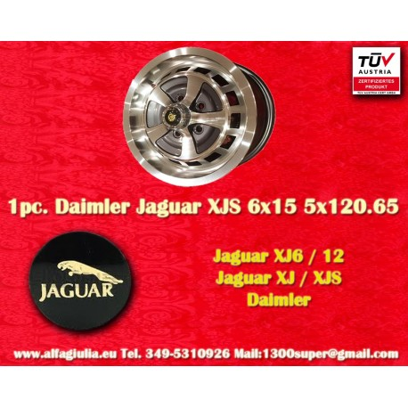 Llanta Jaguar Daimler 6x15 Jaguar XJ6/12 XJS
