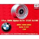 1 pc. Llanta BMW Alpina 8x16 ET28 4x100