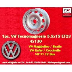 4 jantes Volkswagen 5.5Jx15 ET23 4x130