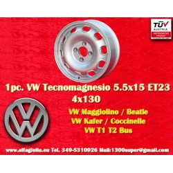 1 Pc. Volkswagen 5.5x15 ET23 4x130 wheel