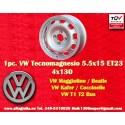 1 Pc. Volkswagen 5.5x15 ET23 4x130 wheel