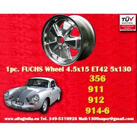 Felge Porsche 911 912 Fuchs 4.5x15 ET42 5x130