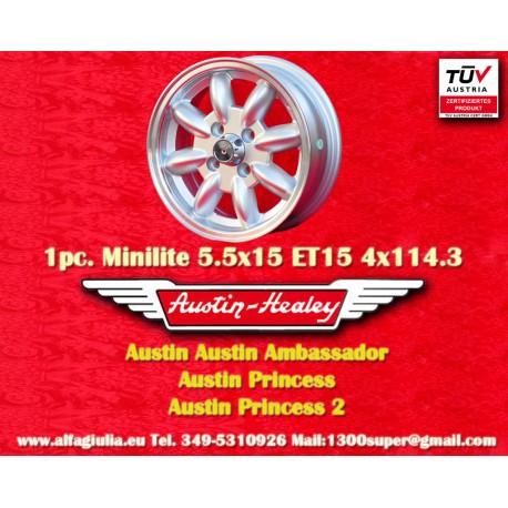 Austin Minilite 5.5x15 ET25 4x114.3