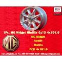 1 pc MG 6x13 ET16 4x101.6 Wolseley Hornet Riley Elf Wheel