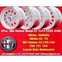 4 Cerchi in Lega Leggera Ronal A1 7x15 ET25 4x98  style per Alfa Romeo