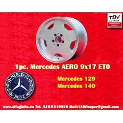 1 pcs. Mercedes AMG Aero style 9x17 ET0 5x112 wheels