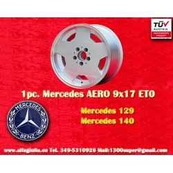 1 Stk. Felge Mercedes AMG Aero style 9x17 ET0 5x112