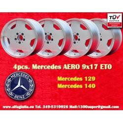 1 pz. llanta Mercedes AMG Aero style 9x17 ET0 5x112