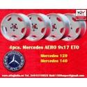 4 pz. llantas Mercedes AMG Aero style 9x17 ET0 5x112