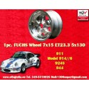 1 pc. cerchio Porsche 911 Fuchs 7x15 ET23.3 5x130 full polished