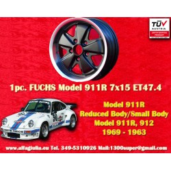 1 pz. llanta Fuchs Porsche 911R Small Body 7x15 ET47.4 Deep Six