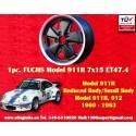 1 pc. jante Fuchs Porsche 911R Small Body 7x15 ET47.4 Deep Six
