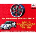 1 Stk. Felge Fuchs Porsche 911R Small Body 7x15 ET47.4 Deep Six