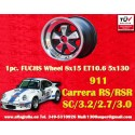 1 pc. Porsche Fuchs 8x15 5x130 ET10.6 RSR Style wheel