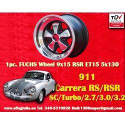 1 pc. cerchio Porsche Fuchs 9x15 5x130 ET15 RSR Style