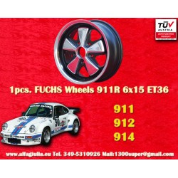 Cerchio Porsche Fuchs 6x15 5x130 ET36 RSR Style