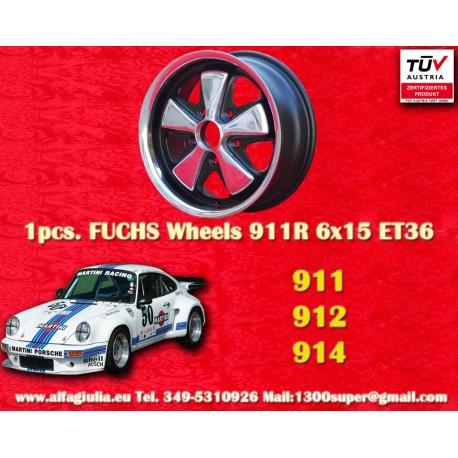 Porsche Fuchs 6x15 5x130 ET36 RSR Style wheels