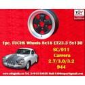 1 Stk. Felge Porsche 911 Fuchs 8x16 ET23.3 5x130