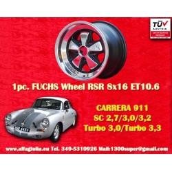 Porsche 911 Fuchs 8x16 ET10.6 RSR Style