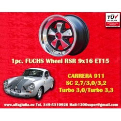 1 pc. Porsche Fuchs 9x16 5x130 ET15 RSR Style wheel