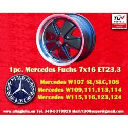 Mercedes Fuchs 7x16 ET23.3 5x112