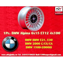 1  pc. BMW Alpina 6x15 ET12 4x100 wheel