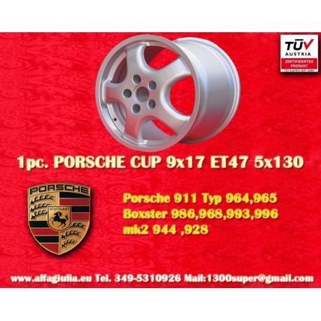 Porsche CUP 9x17 ET47 5x130