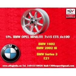 BMW Minilite 7x15 ET+5 4x100