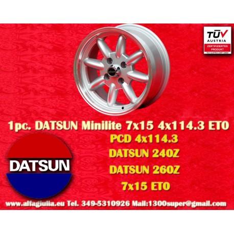 Datzun Minilite 7x15 ET0 4x114.3