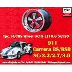 Cerchio Porsche Fuchs 8x15 5x130 ET10.6 RSR Style